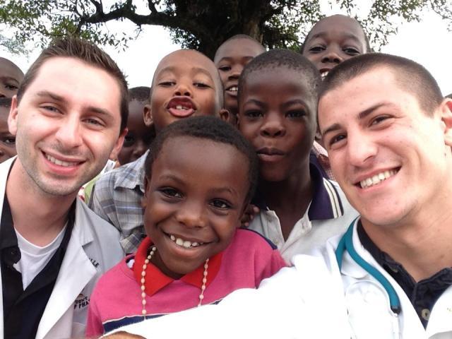 Jeff, Nikko, and the Children