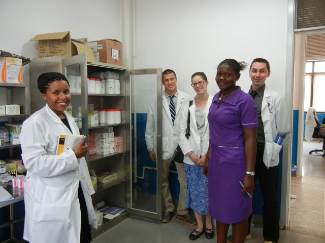 A view of the Pediatric Pharmacy