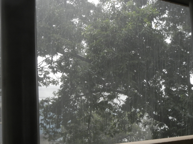 Drenching Rain Over Mulago Hospital- August 2014