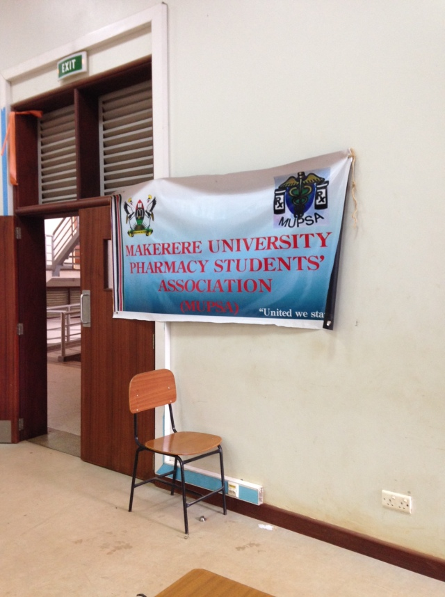 The Pharmacy Student have a club called the Makerere University Pharmacy Student Association which, among other activities, runs an international pharmacy student conference every spring.