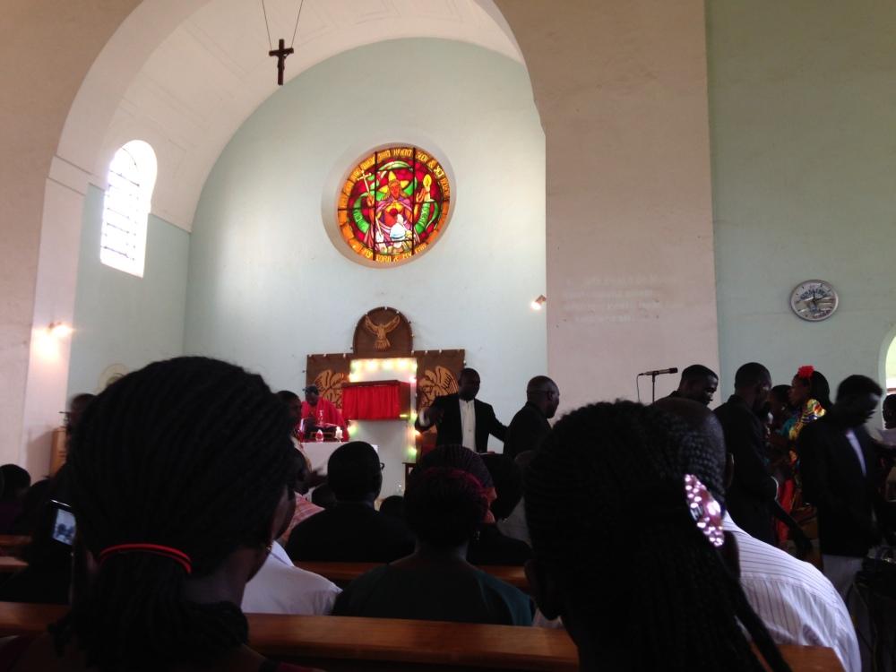 Roman Catholic Worship Ugandan Style (3/4)