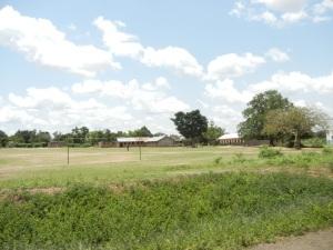 A Ugandan school along the way