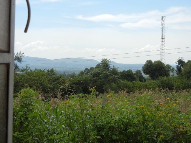 View from the Window at Professor Odoi's home in Tororo, Uganda