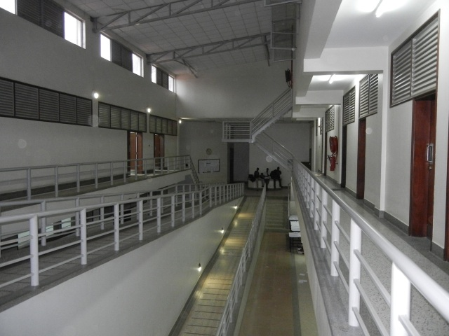 This is another interior view of the Pharmacy School, looking the opposite way of the Canteen