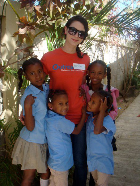 Kristen in the Dominican Republic