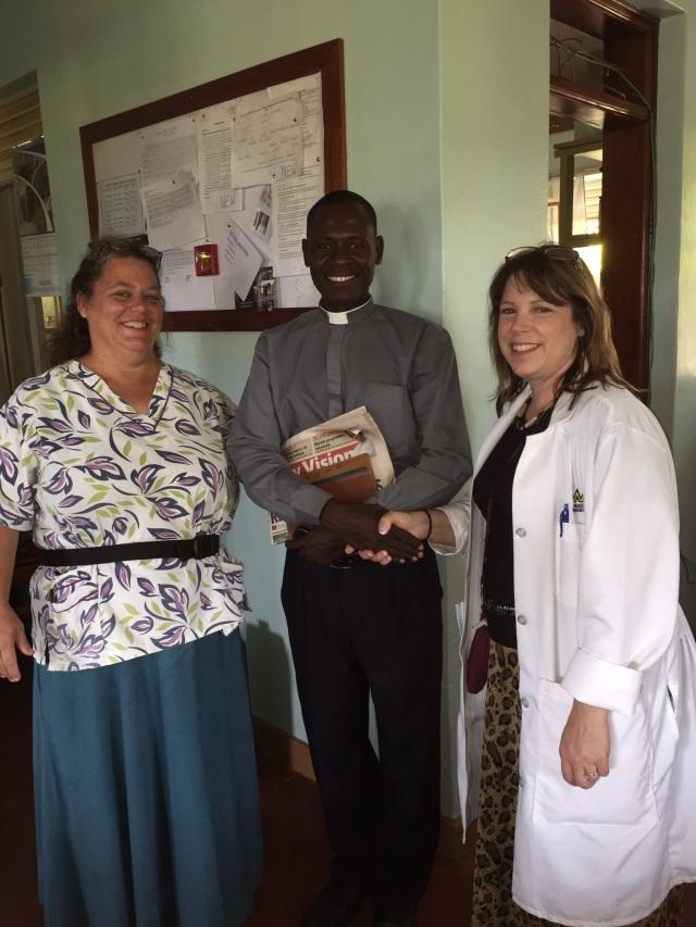 Janine, Rev. Josebard, and Dr. KarenBeth Bohan