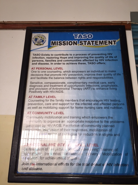 The TASO Mission Statement
