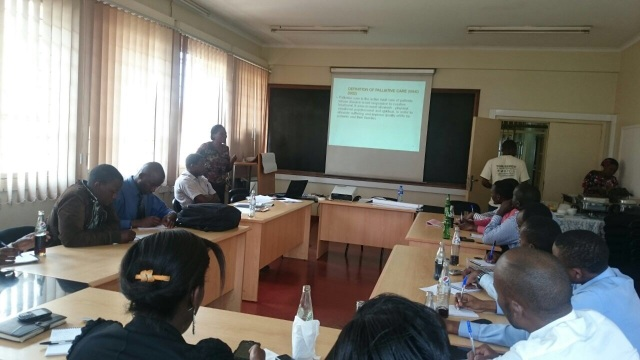 Pain and Palliative Care Training for the Pharmacy Interns at Mulago National Referral Hospital