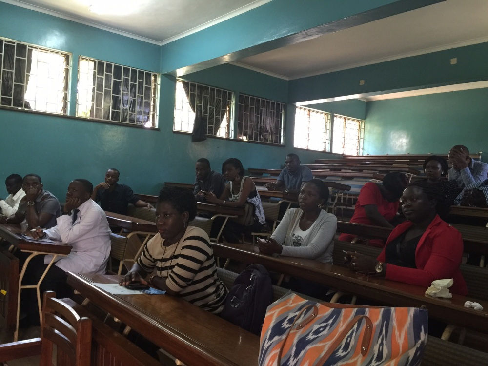 A New Experience for 3rd Year Makerere Pharmacy Students + A Presentation to the Pharmacy Interns (2/3)