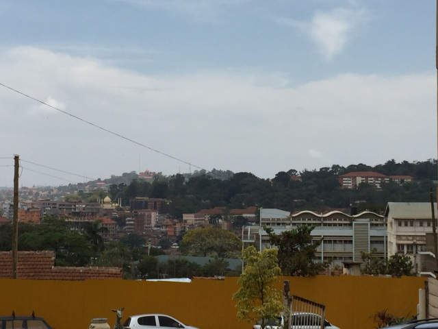 Another view of Kampala from the IDI