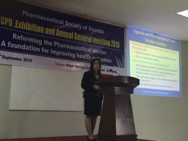 KarenBeth's presentation on Strengthening Pharmaceutical Care in Uganda