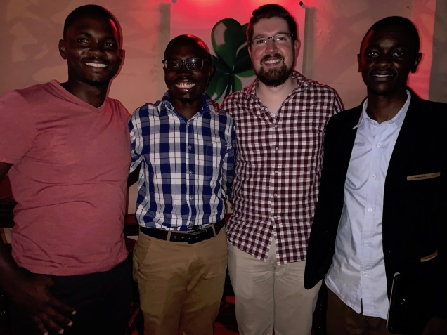Christian with some of my past Ugandan pharmacy students